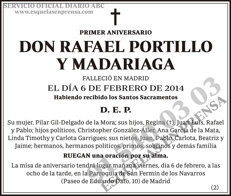 Rafael Portillo y Madariaga